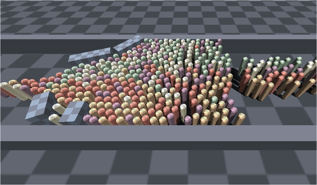 Velocity-Based Modeling of Physical Interactions in Dense Crowds (image missing)